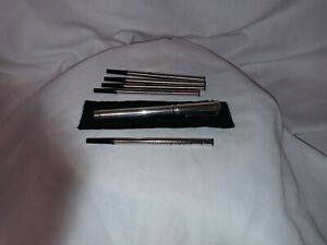 """RARE Montegrappa Reminiscence """"Kate Spade"""" 925 Sterling Silver Rollerball Pen"""