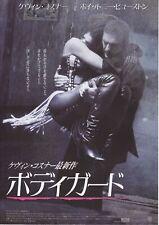 THE BODYGUARD:Kevin Costner - Original Japanese  Mini Poster Chirash
