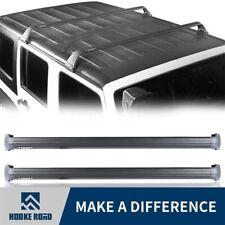 Hooke Road Top Roof Cargo Rack Offroad Carries Fit Jeep Wrangler JL 18-20 Black