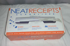 Neat Receipts SCANALIZER old version - complete with everything receipt scanner