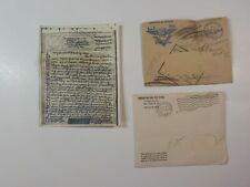 New listing WWII Letter 1944 V-Mail P.O.W. Camp Missing Soldier German WIA Germany WW II WW2