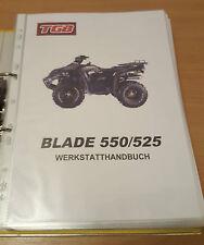 Werkstatthandbuch TGB Blade 550 / 525 Deutsch