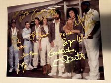 Alien movie photo cast signed by all Sigourney Weaver Hr Giger Ridley Scott auto