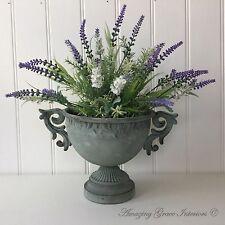 Antique French Vintage Style Metal Urn Flower Vase Wedding Table Centerpiece NEW