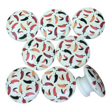 Set of 8 Chili Pepper Cabinet Knobs