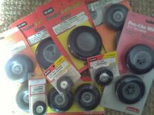 Lot DuBro / Hangar9 Wheel Products - 9 Items - For Large Scale Models - NEW