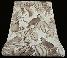6302-10-) 3 Rollen moderne Vliestapeten Paradisio Papageien Vögel Blätter