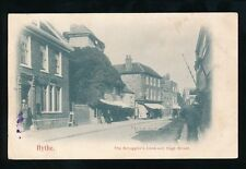 Kent HYTHE  High Street Smugglers Look Out c1902 u/b PPC