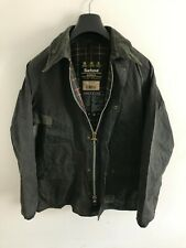 Mens Barbour Bedale wax jacket Dark Blue coat 40 in size Medium / Large M/L #6