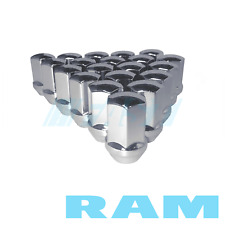 "Lug Nuts Ram Dodge Trucks Factory Fit Chrome 9/16"" Fits 2002-2011 Ram 20 Pieces"