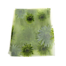 Sunflower Voile Curtain Window Flower Tulle Curtain 1x2M For Living Room Kitchen