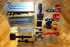 1980's HASBRO G1 TRANSFORMERS SPARES PARTS JUNKERS - OPTIMUS PRIME TRAILERS CABS