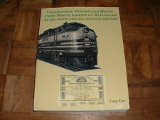 Collectible Stocks and Bonds North American Railroads Guide PB Book Terry Cox