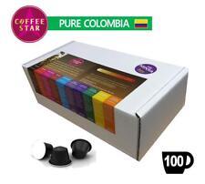 100 coffeestar COLOMBIA singola origine Nespresso Compatibile Capsule