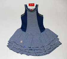 NWT No Added Sugar Hyde Park Bustle Dress Blue Striped Tank Dress Size 5 6 Years
