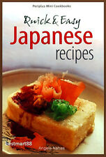 JAPANESE QUICK & EASY RECIPES Asian Cooking Japan Asian Paperback New