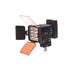 T-4 sulla fotocamera LED LITE 160watts Sony NP BATTERIA RACCORDO