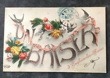 CPA. ENGHIEN LES BAINS. 95 - Un Baiser d'Enghien Lee Bains. 1907.