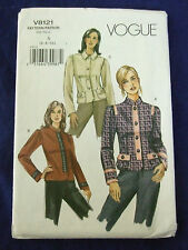 VOGUE#9881 WOMENS SZ 6-8-10 UNUSUAL CASUAL  JACKETS   SEWING PATTERN