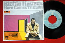"""RICHIE HAVENS HERE COMES THE SUN UNIQUE RARE EXYU 7"""" PS"""