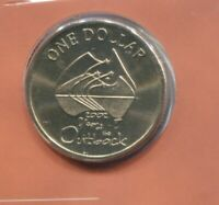 2002 $1 UNC Uncirculated Coin ex mint Set no mint mark Year of the OUTBACK