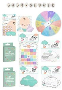 Baby Shower Games, Decorations, Invitations - Party Games - Celebration - Unisex