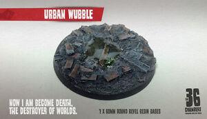 Urban Wubble 60mm Round Bevel Resin Base