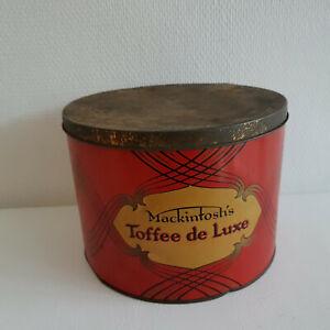 Blechdose Mackintosh´s Toffee de Luxe Dose