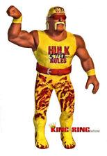 WWF LJN Custom HULK HOGAN Wrestling Figure WWE Hulkamania RARE VTG Hollywood nWo