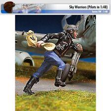 Andrea Miniatures SW08 German Pilot Running II 1/48 scale metal model Figure