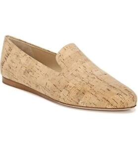 $325 - VERONICA BEARD Griffin Natural Cork Leather Loafer Size 11