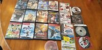 Playstation Video Game Lot  (Ps2, Ps3, Ps1) Great Titles RAYMAN STAR WARS OMI