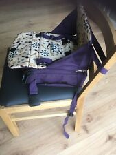 Kindersitzerhöhung für normale Stühle von Munchkin als Tragetasche -