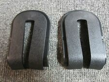 82 corvette collectors edition rear hatch glass hinge bezels! 2 NEW!! C3 CE