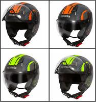 Bikeit Motorcycle//Bike Twin Maltese Cross E-Marked Clear Lens LED Rear Light 12V