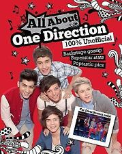 ALL ABOUT ONE DIRECTION BY PARRAGON BOOKS (2012, HARDCOVER)
