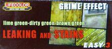 Lifecolor MS-11 Model Paint - Leaking & Stains Grime Effect Acrylic Paint Set