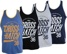Crosshatch Herren-T-Shirts in normaler Größe