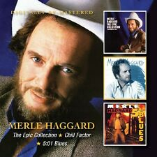 Merle Haggard-EPIC COLLECTION/Chill Factor/5:01 Blues 2 CD NEUF