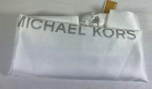 Michael Kors White Satin Drawstring Extra Large Dust bag Dust Cover