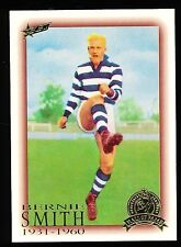 1996 Hall of Fame No. 64 Bernie Smith Geelong Cats card