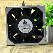 2 PCS DELTA TFC1212DE Cooling Fan DC 12V 3.90A 120mm x 120mm x 38mm