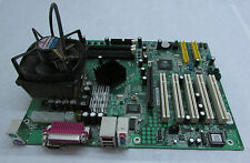MSI ms-6729 motherboard placa base incl. AMD CPU 5x PCI Sound LAN NVIDIA, etc.