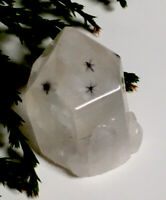 5.6g  GENUINE RARE STAR HOLLANDITE QUARTZ CRYSTAL SPECIMEN  Reiki  MADAGASCAR