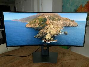 Dell UltraSharp U3417W 34 inch 21:9 Curved IPS Monitor - 3440x1440 UltraWide