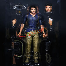"""NECA Nathan Drake Uncharted 4 Ultimate 7"""" Action Figure Collection Loose No Box"""