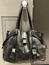 L K BENNETT LARGE BLACK LEATHER 'ANNA' SHOULDER BAG - ORIG £295.00