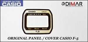 Vintage Casio Original Panel / Cover For Casio F-5