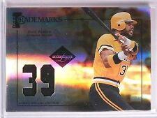 2005 Leaf Limited Trademarks Dave Parker jersey prime #D15/50 #TT27 *67004