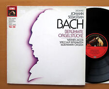 ED 12 9115 1 Bach 1685-1985 Vol. 20 Famous Organ Works Werner Jacob NM/VG